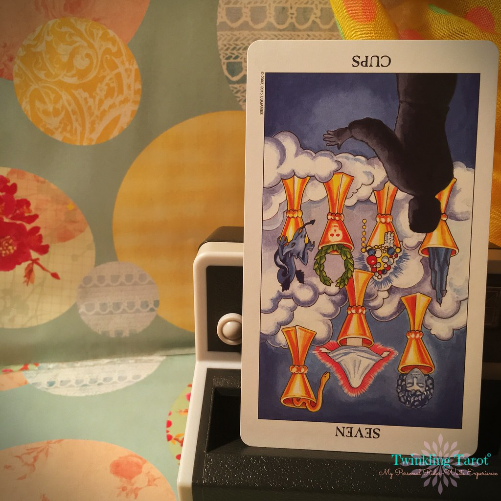 7 of Cups - Reversed