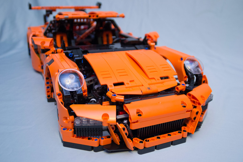 42056 Lego Technic Porsche 911 Gt3 Rs Box 4 Finished Flickr