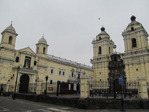 Lima: el Covento San Francisco dans le centre historique