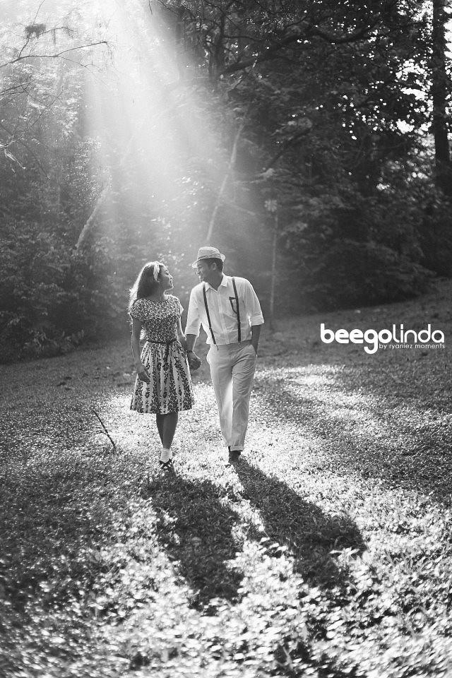 Gambar Pra Perkahwinan Beego Linda Hashim