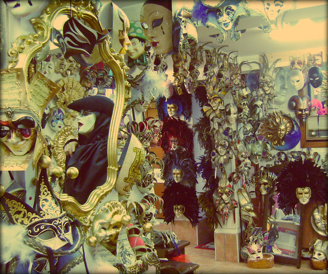 Loja de máscaras/Mask shop