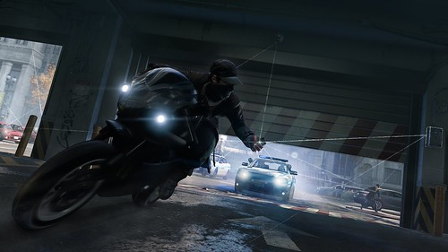 WatchDogs_Takedown Cop DroppingDoor