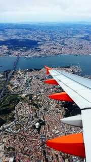 Lisbon area from above