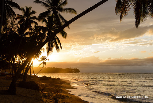Sunset in Las Terrenas - El Portillo 01