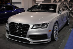 audi s8(0.0), automobile(1.0), automotive exterior(1.0), audi(1.0), executive car(1.0), audi a7(1.0), family car(1.0), wheel(1.0), vehicle(1.0), automotive design(1.0), rim(1.0), auto show(1.0), audi sportback concept(1.0), bumper(1.0), sedan(1.0), land vehicle(1.0), luxury vehicle(1.0),