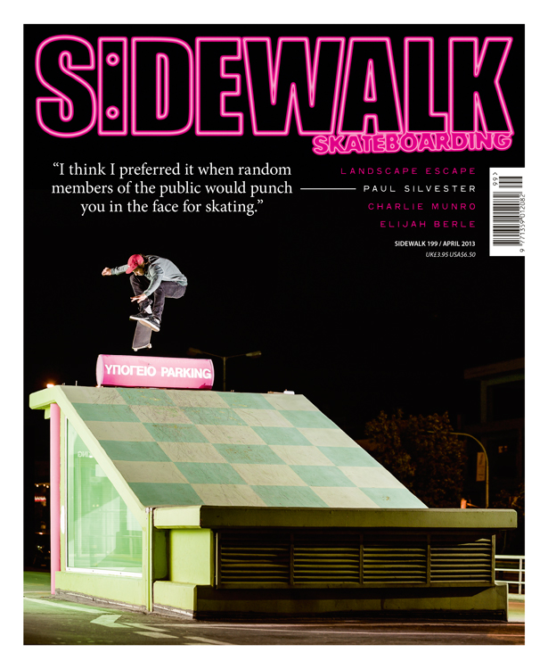 Sidewalk magazine issue 199 cover.