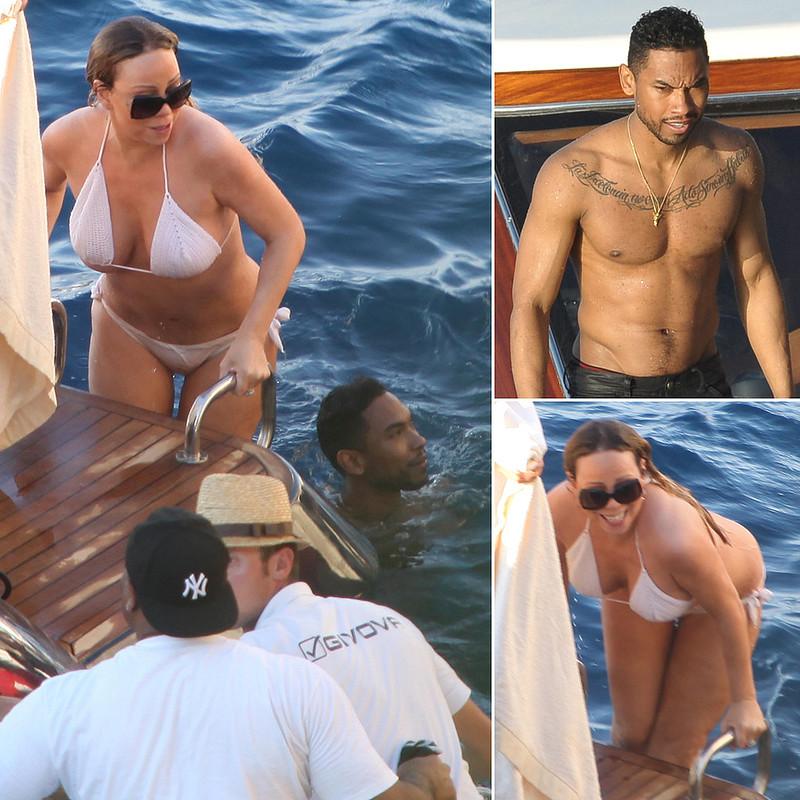 Mariah-Carey-Bikini-Miguel (1)