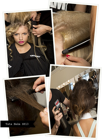London Fashion Week with TONI&GUY - Tata Naka