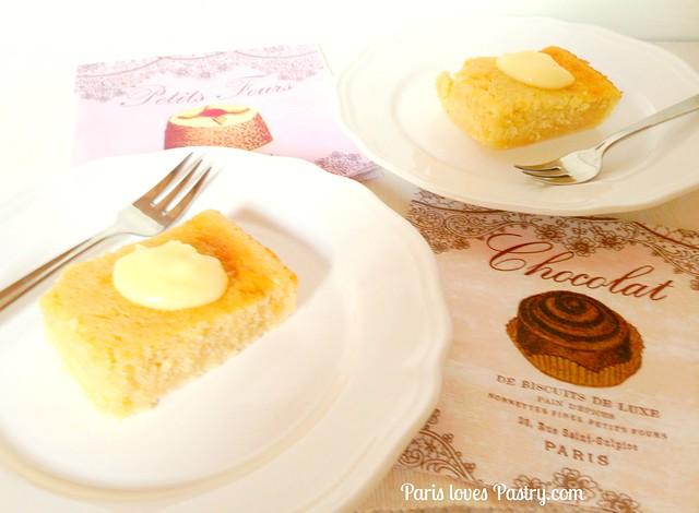 杏仁柠檬雄蛋糕
