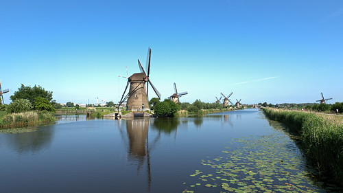 Kinderdijk, Unesco World Heritage list.