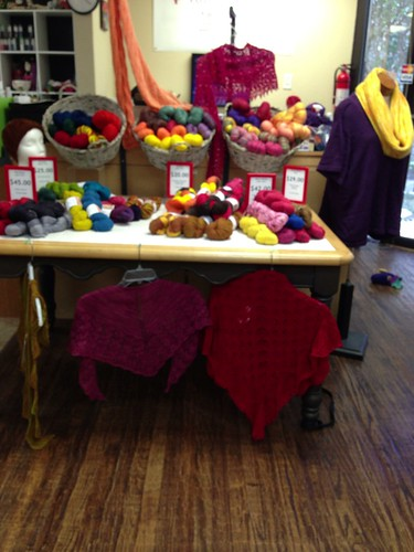 Knitting rose trunk show