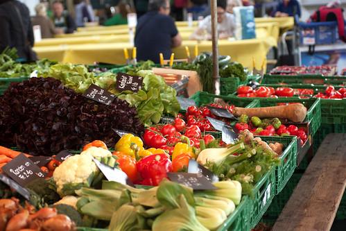 produce @ hauptbahnhof market