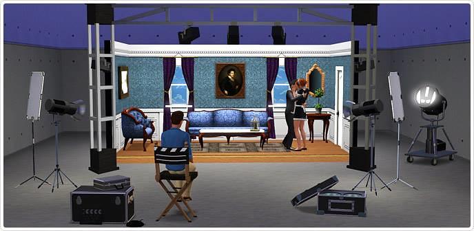 Sims 3 Film accessoires Regieset