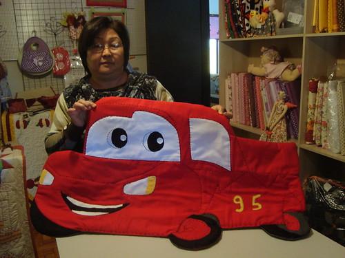 McQueen ,1 X 0.60 ...cida  o netinho vai agradecer by Maringá Patchwork by Ruth Urbinati