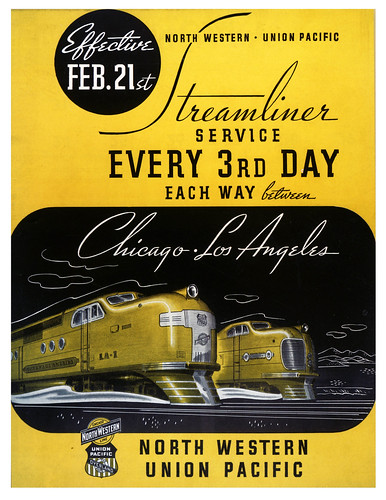 Streamliner Service Every Third Day by paul.malon