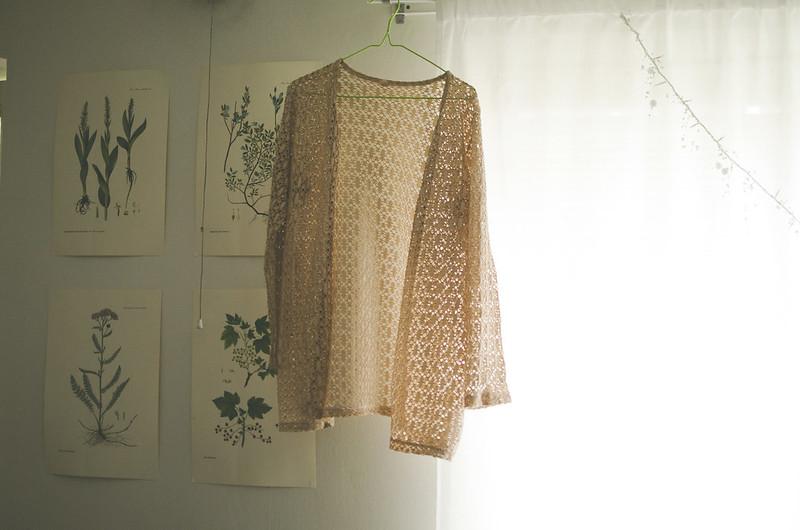 Färgad tröja
