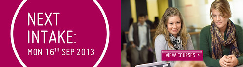 Next intake Homepage banner sep2013