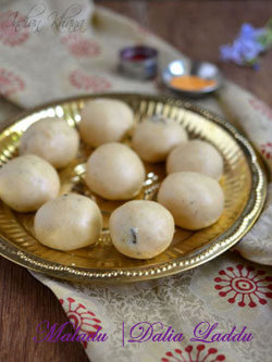 Maaladu | Roasted Gram Laddu