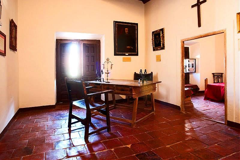 3. Celda del antiguo convento de Santo Domingo, donde murió Quevedo