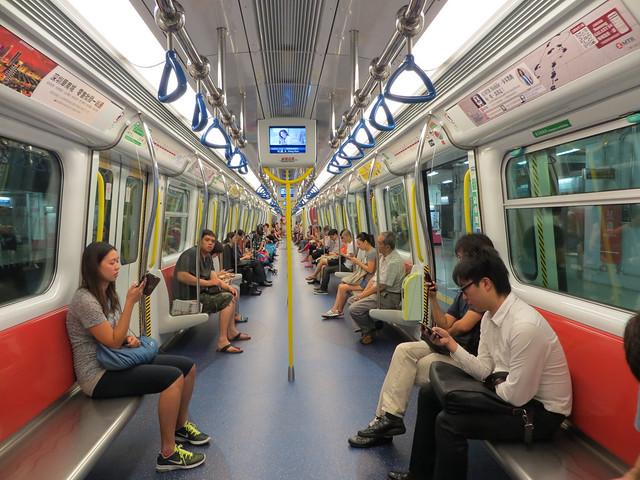 Coche serie SP1900 del Metro de Hong Kong