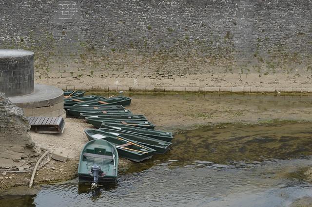 Chateau de Chenonceau boats