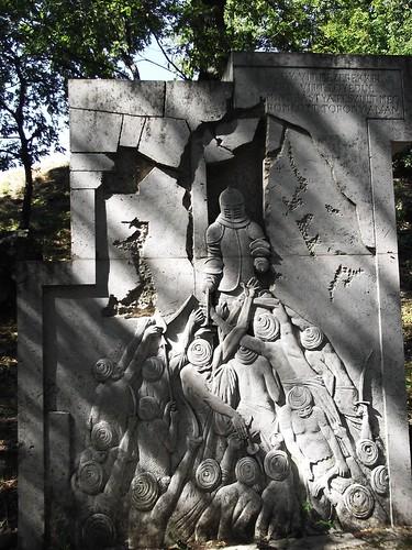 Drégelyvár - Emlékmű