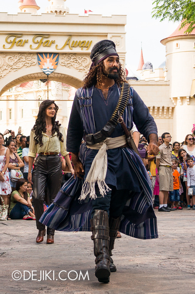Universal Studios Singapore - Hollywood Dreams Parade - Ancient Egypt - Ardeth Bay