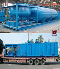 well drilling machines- safety and energy saving KOSUN solids control equipment