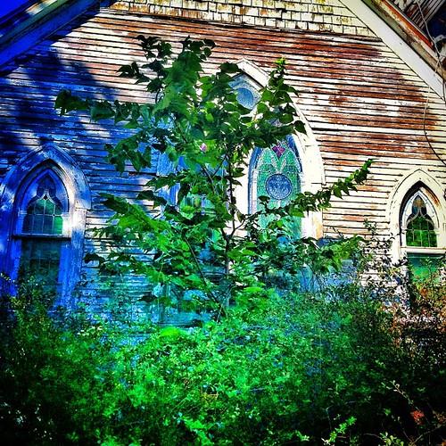 #abandoned #church #country #mayview  #urbana #illinois