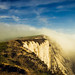Fog Clearing Beachy Head:Eastbourne S0656181- by dens_lens