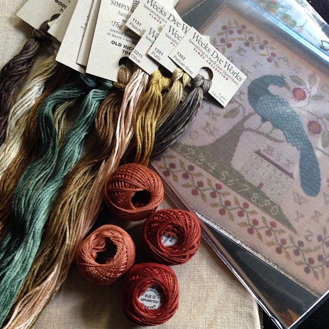 New Stash! #manoratpeacockhill #withthyneedleandthread