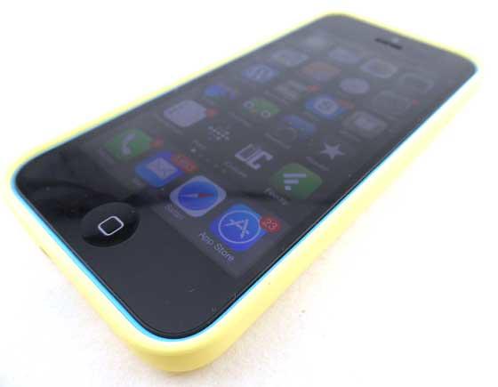 iPhone 5c hoesje geel