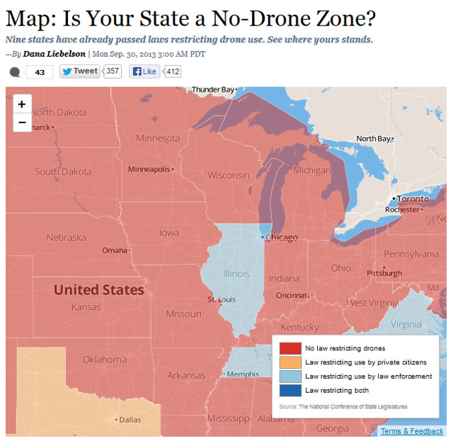 Is Your State a No-Drone Zone?
