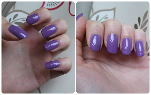 NOTD Jacava London Blueberry Muffin