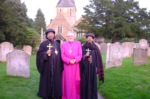 His Grace Archbishop Abba Yacob; Bishop Geoffrey Rowell, His Grace Archbishop Abba Gabriel