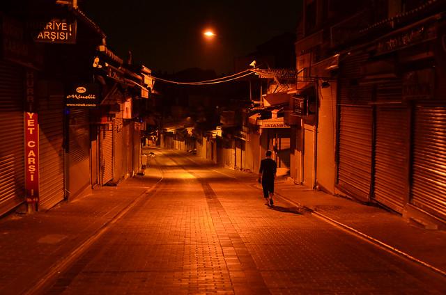 Estambul en la noche