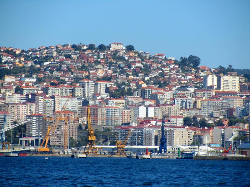 Vigo del cerro al puerto