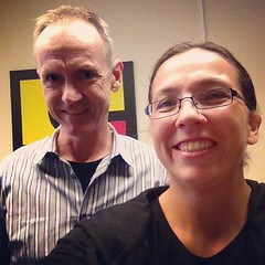 Nice to meet John Dunham of #Saucelabs today :)