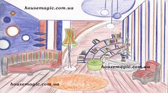 Работа выпускников дизайнерской школы Magic House группа ДИ-3