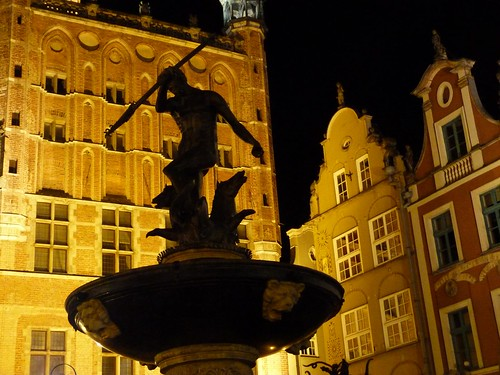 Estatua de Neptuno en Gdansk