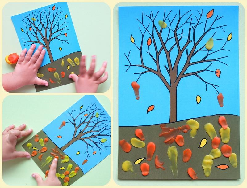 Осенние поделки для детей 4 5 лет