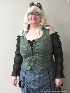 Check out Halloween Costumes at the Reeves College Lethbridge Campus in Alberta - Steampunk Instructor