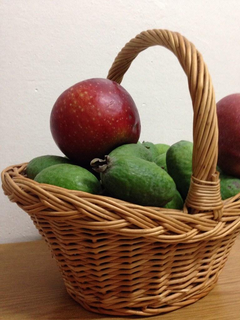 Manzanas y feijoas [40/365]
