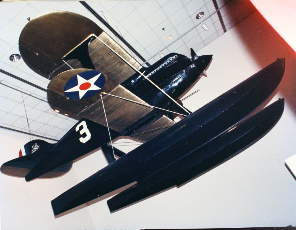 Curtiss R3C Seaplane Racer Airplane
