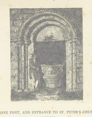 """British Library digitised image from page 127 of """"The antiquarian and topographical cabinet: containing a series of elegant views [engraved by J. S. Storer and John Greig] of the most interesting objects of curiosity in Great Britain"""""""