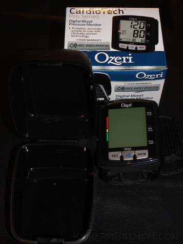 Ozeri CardioTech Pro Series Digital Blood Pressure Monitor Review