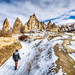 Walking in valley,Cappadocia by Nejdet Duzen