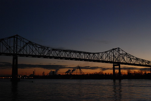 cruise sunset industry river mississippi atardecer louisiana scenery sonnenuntergang queen american steamboat