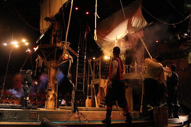 Pirate's Dinner Adventure #riseoftheseadragon