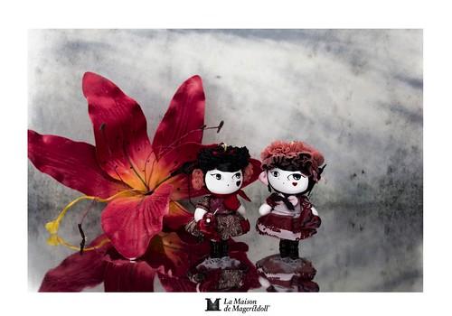 Mageritdoll: LOVE OBSESSION - (Resin Art Doll Jewelry - Joyas de Muñeca. Muñeca artística resina) by La Maison de Mageritdoll